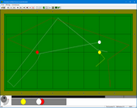 carom billiard simulator