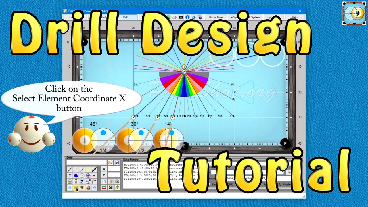 How To Design a Drill with PoolShot Software