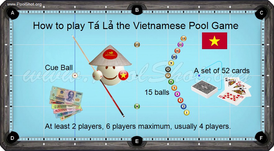 Poker Pool in Vietnam - 1