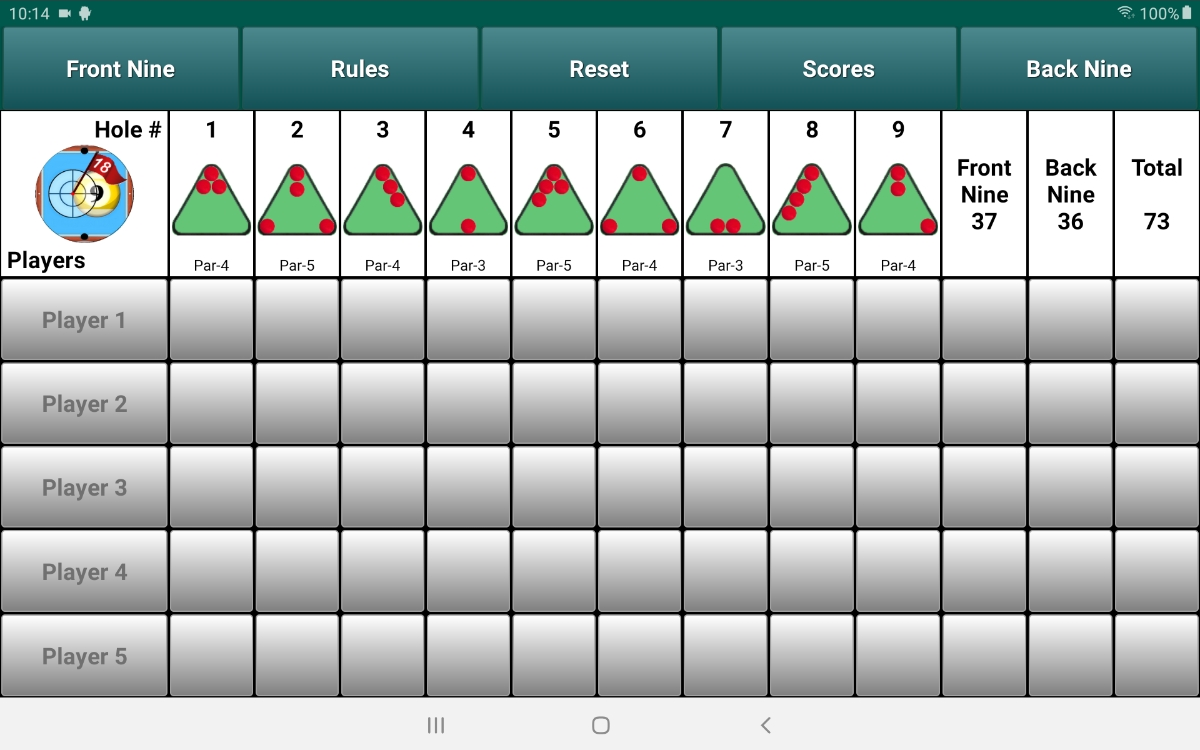 Download PoolShot Billiard Golf Android App