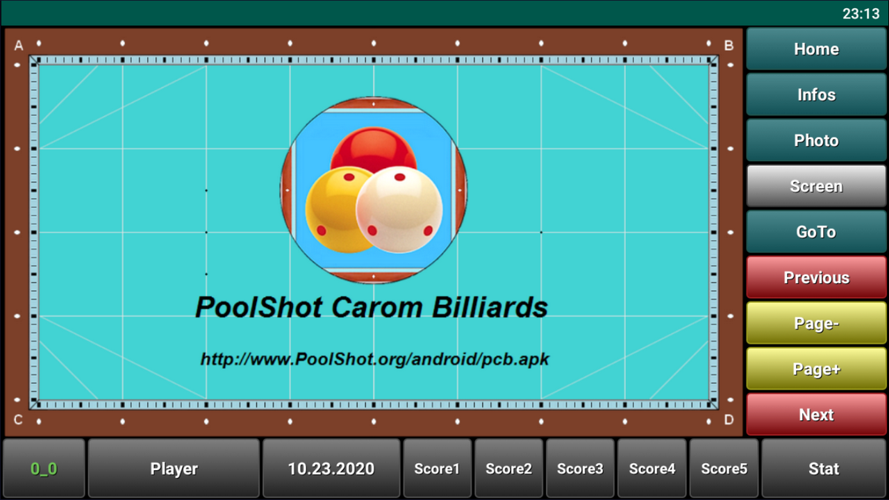 Download PoolShot Carom Billiards Android App